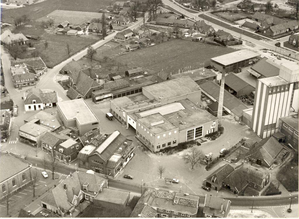 Plan Mooi Markelo zuivelcoöperatie jaren 60