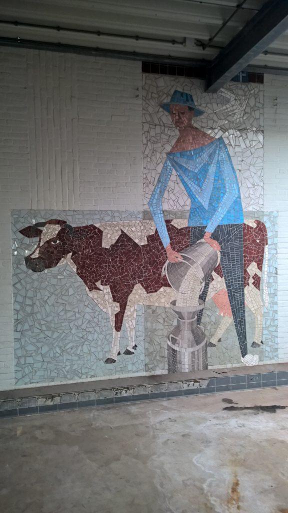 Plan Mooi Markelo Mozaiëk Melkman Zuivelfabriek 2015