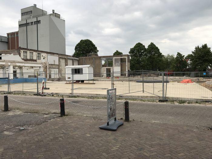 Plan Mooi Markelo Snelkookplan Kaasplein Kaasfabriek Plein bestrating tegelvloer